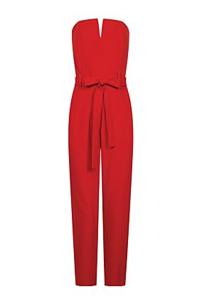 Red Dressy Jumpsuit