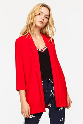 Red Jacket with Belt