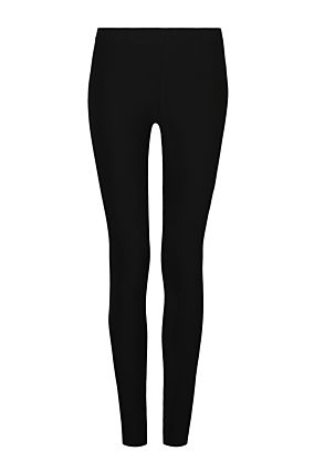 Black Soft Basic Leggings