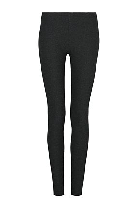 Graue Leggings