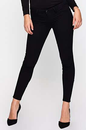 Black Power Stretch Skinny Jeans