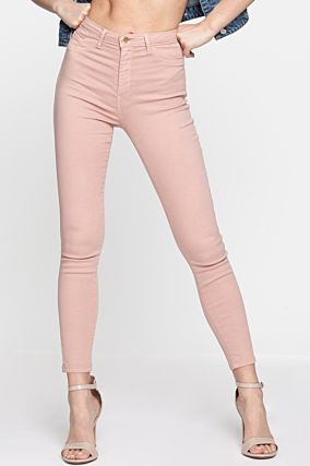Light Pink High Waist Trousers