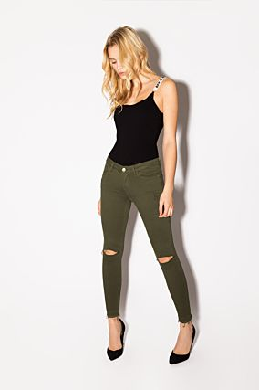 Dark Khaki Trousers