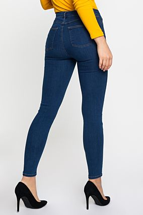 Blue Button Up Jeans