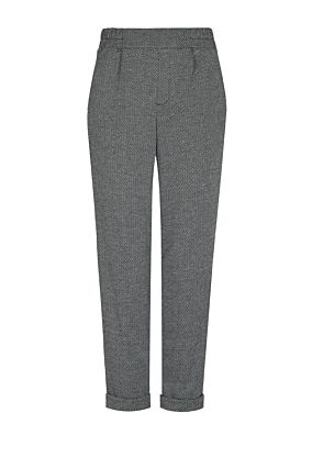 Chevron Tailored Trousers