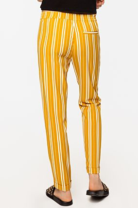Yellow Striped Trousers
