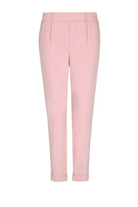 Pink Trousers with Side Stripe