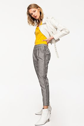 Grey Trousers with Bands