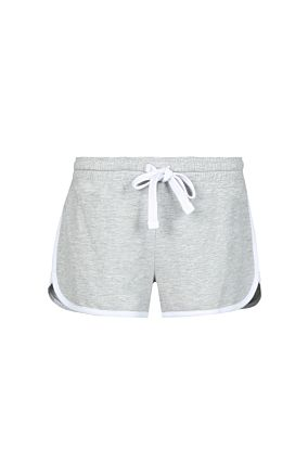 Grey Mini Sports Shorts