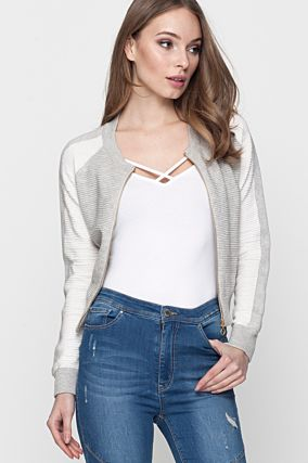 White Front Cross Top