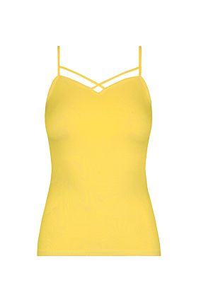 Yellow Cross Front Top