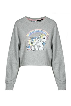Grey My Little Pony Sweatshirt