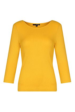 Yellow Mustard Basic Top