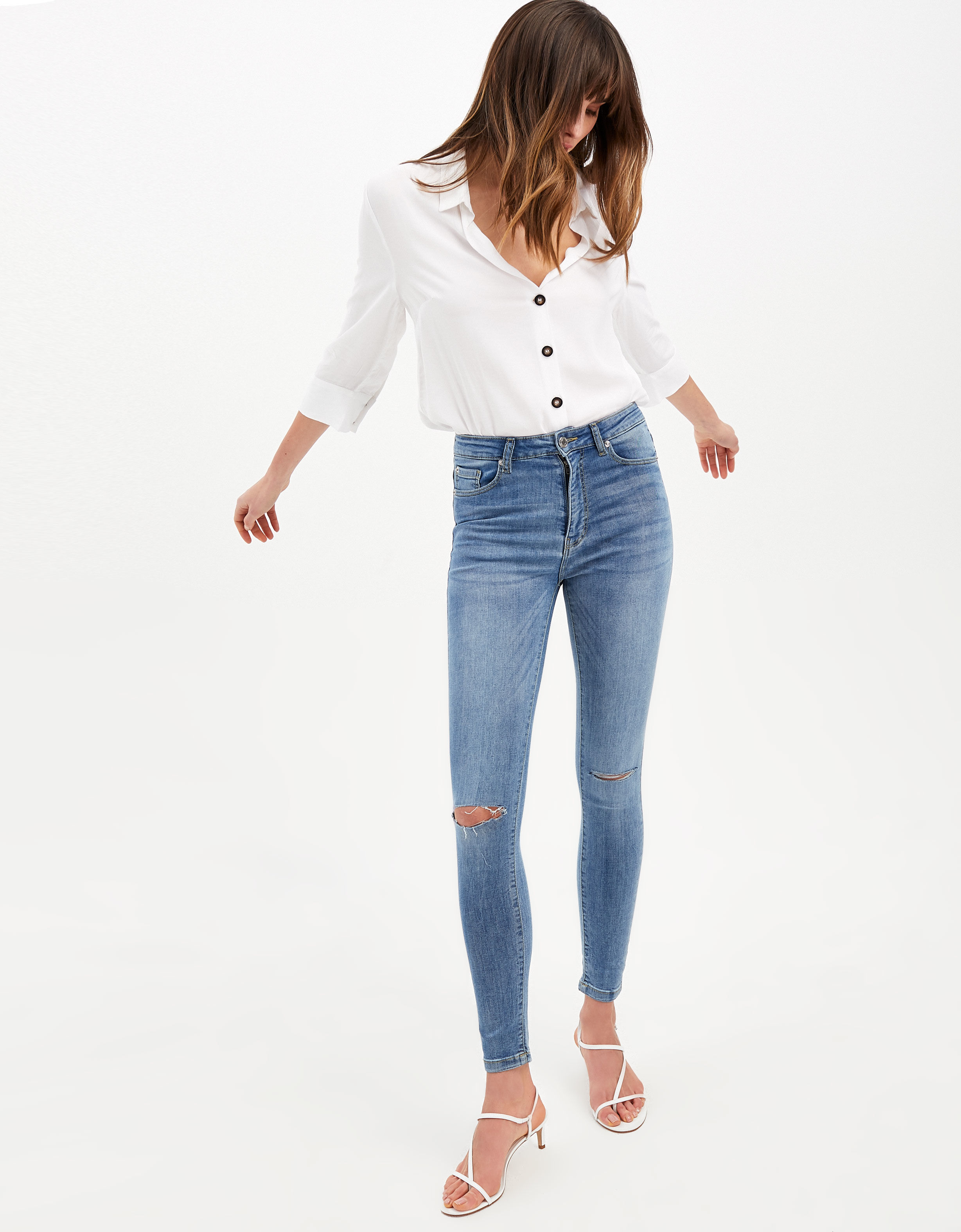 Tally Weijl - shape high waist skinny jeans - 1