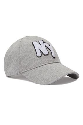 "Casquette Grise ""NY"""