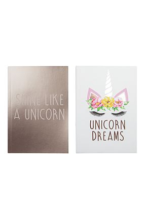 2 Unicorn Notebooks