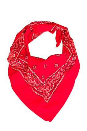 Red Big Bandana