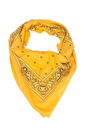 Yellow Big Bandana