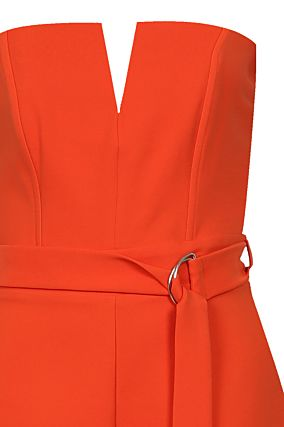 Orange Playsuit