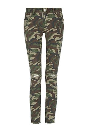Camo Side Stripe Trousers