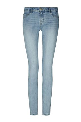 WOVEN LOW WAIST DENIM BLU013 32