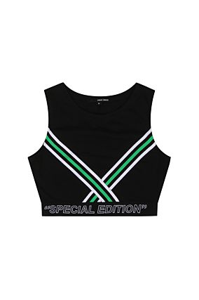 "Black ""Special Edition"" Crop Top"