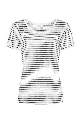Striped  Basic T-Shirt