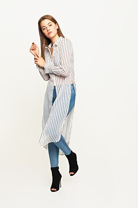 Striped Long Shirt