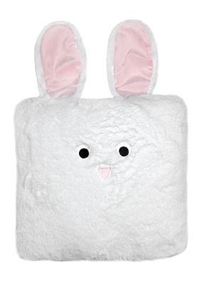 White Bunny Pillow