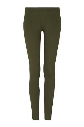 Grüne Leggings