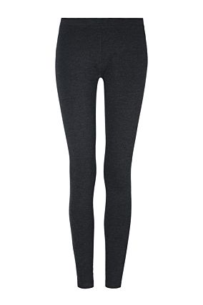 Dark Grey Basic Leggings