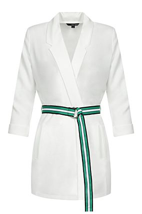 White Jacket with Belt