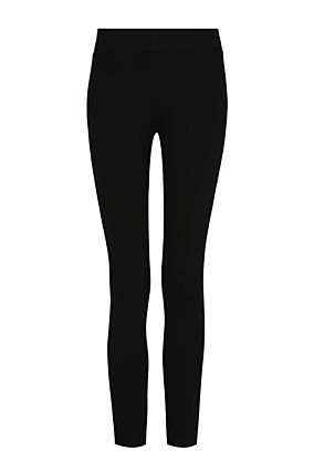 Black Side Print Leggings