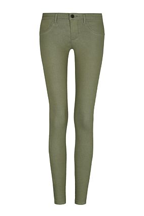 Green Push Up Trousers