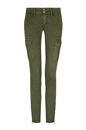 Khaki Trousers with Pockets