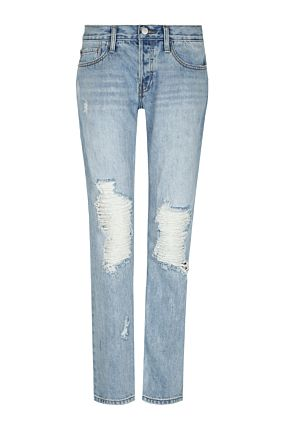 Light Blue Boyfriend Jeans