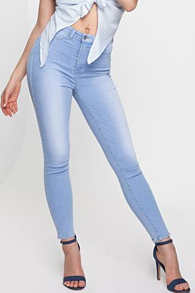Light Blue High Waist Jeans
