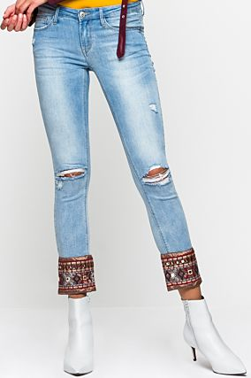 Flare Jeans with Details