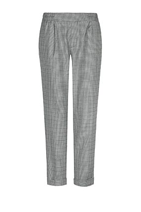 Houndstooth Cigarette Trousers