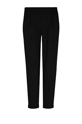 Black Trousers with Red Bands