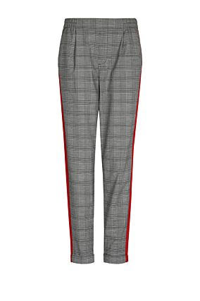 Grey Trousers with Red Bands