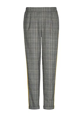 Grey Trousers with Side Stripe