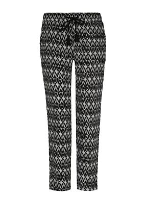 Black & White Trousers