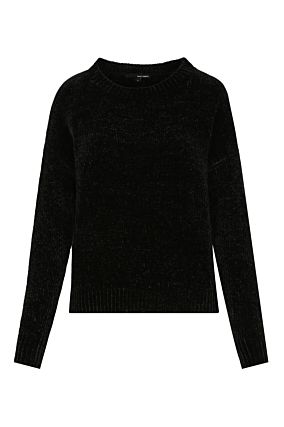 Black Chenille Jumper