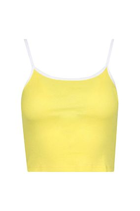 Crop Top Jaune