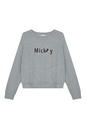 Grey Mickey Mouse Sweatshirt