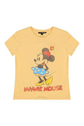 Yellow T-Shirt Minnie Mouse