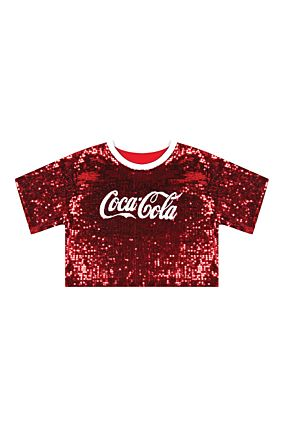 Sequins Coca Cola T-shirt