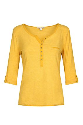 Yellow Buttonned Top