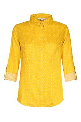 Polka Dots Yellow Shirt